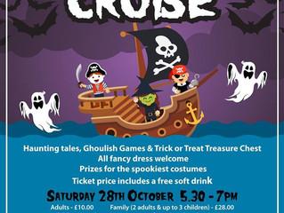 Halloween Cruise - 5.30pm - 7pm Saturday 28 October 2017.