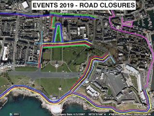 MAJOR EVENTS CALENDAR 2019 AND ROAD CLOSURES ADVANCE NOTICE