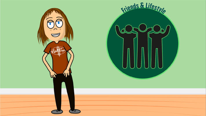 LifeTap Character Animation Friens And L
