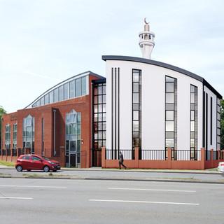 Crawley Islamic Centre + Mosque