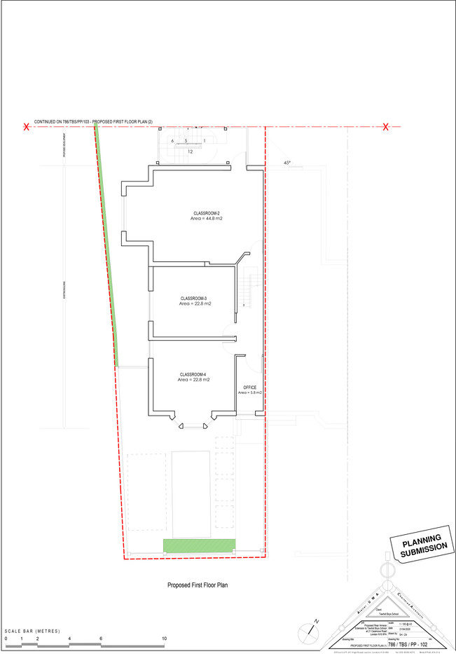 786_TBS_PP_102_PROPOSED FIRST FLOOR PLAN