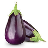 Eggplant isolated on white .jpg