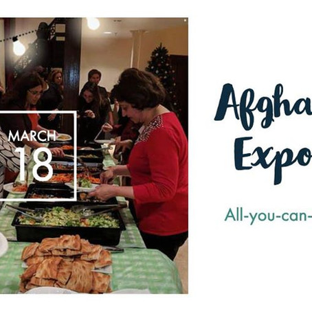 All-You-Can-Eat Afghan Food Expo!