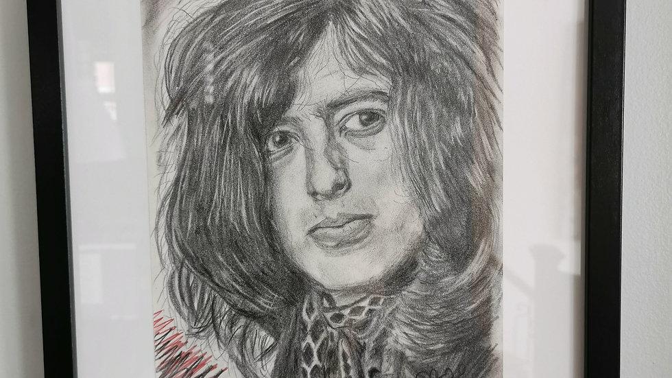 Portrait de Jimmy Page