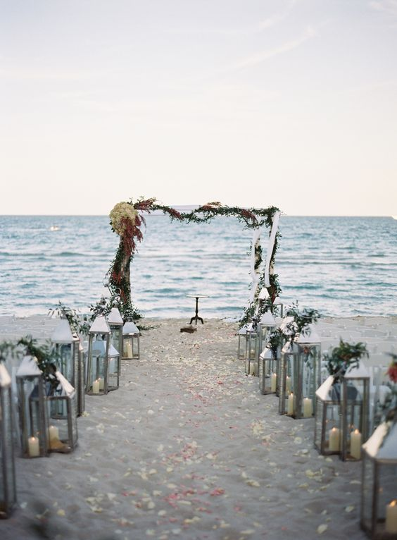 Beach wedding, Puka Beach