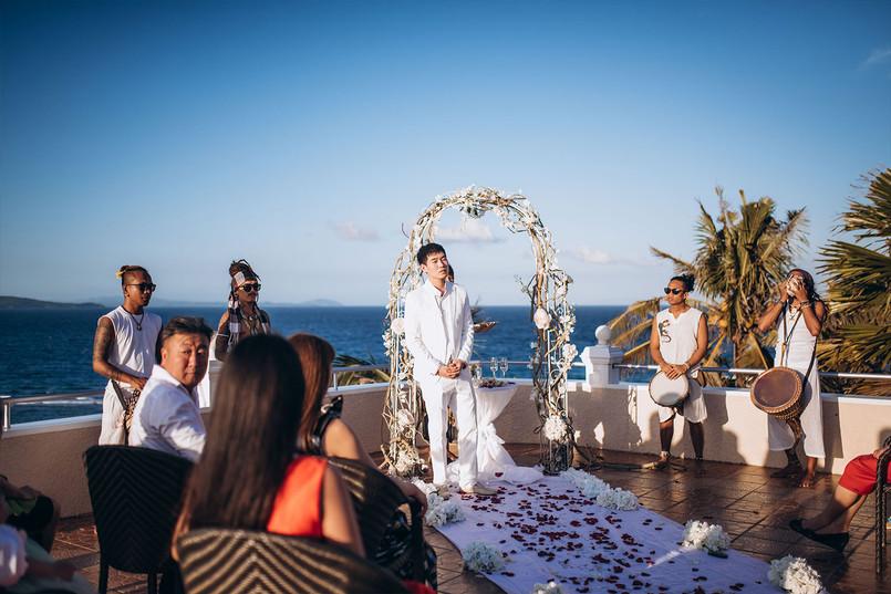 Свадьба в классическом стиле на Боракае