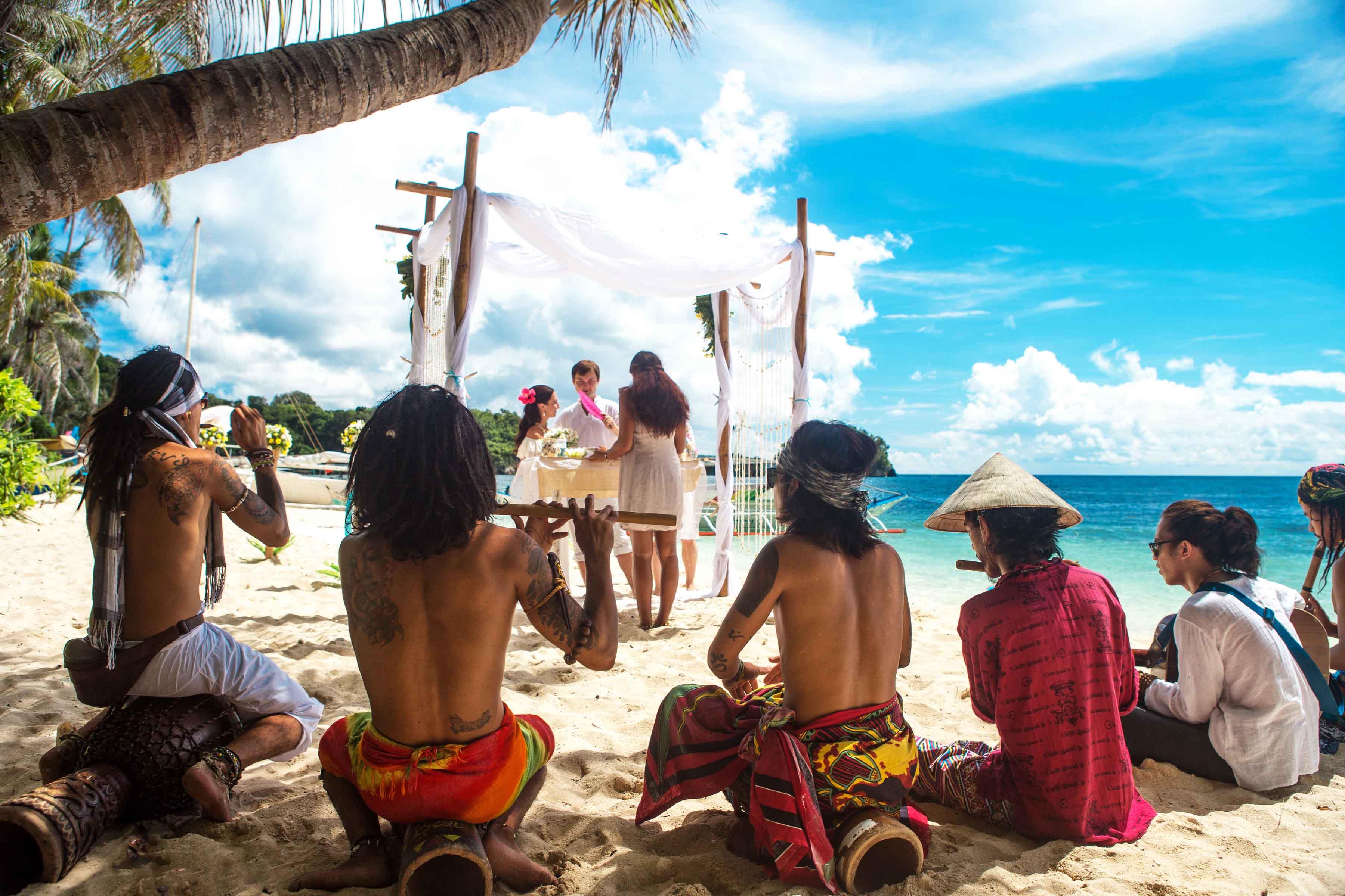 Свадьба на Боракае, Филиппины