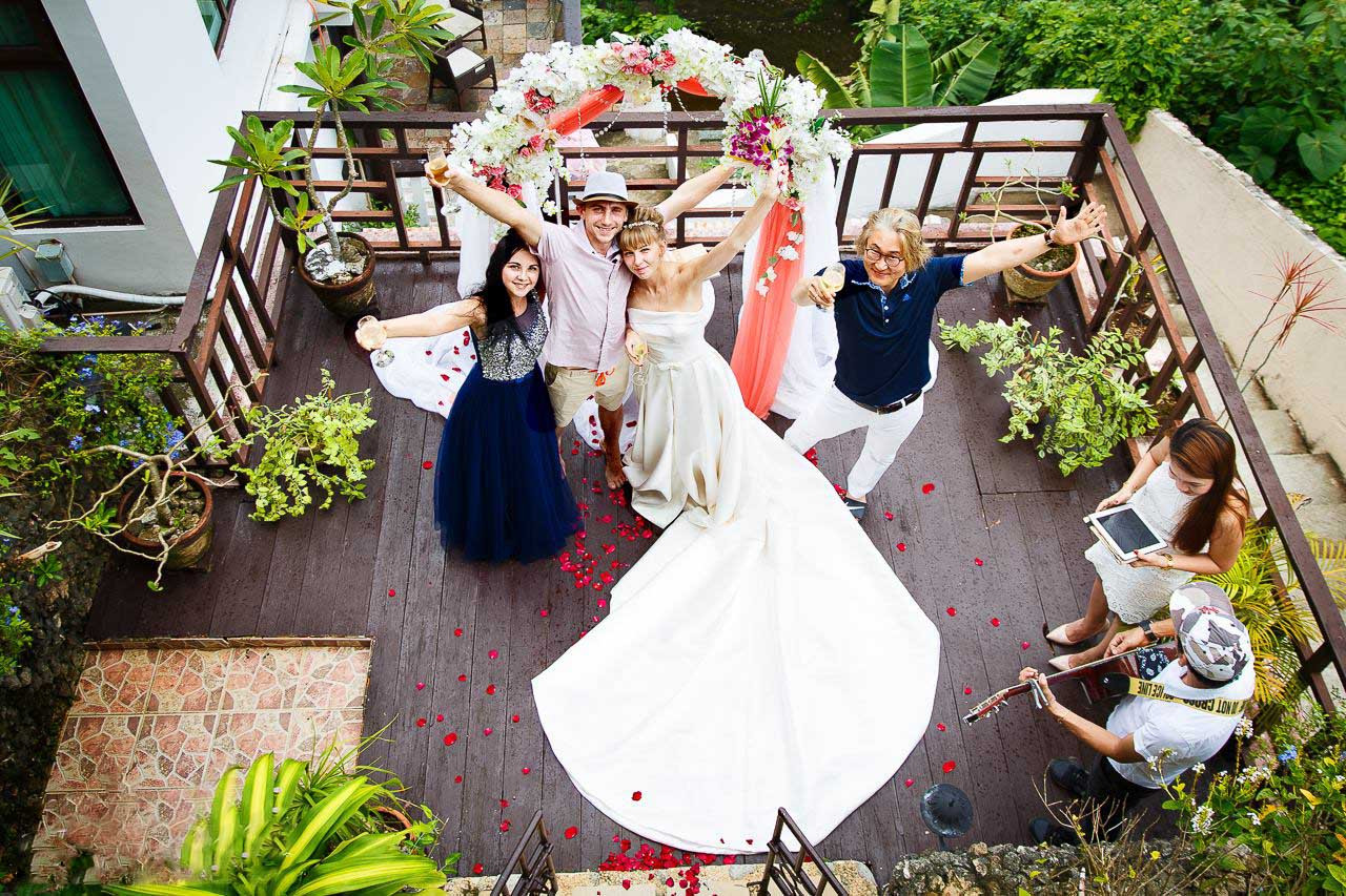 Свадьба на приватной вилле