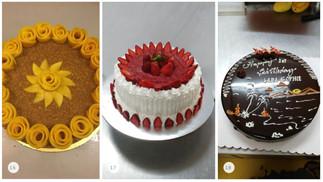 Классические торты на Боракае