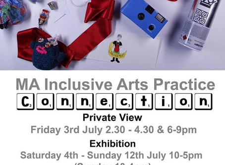 MA Inclusive Arts show is on now