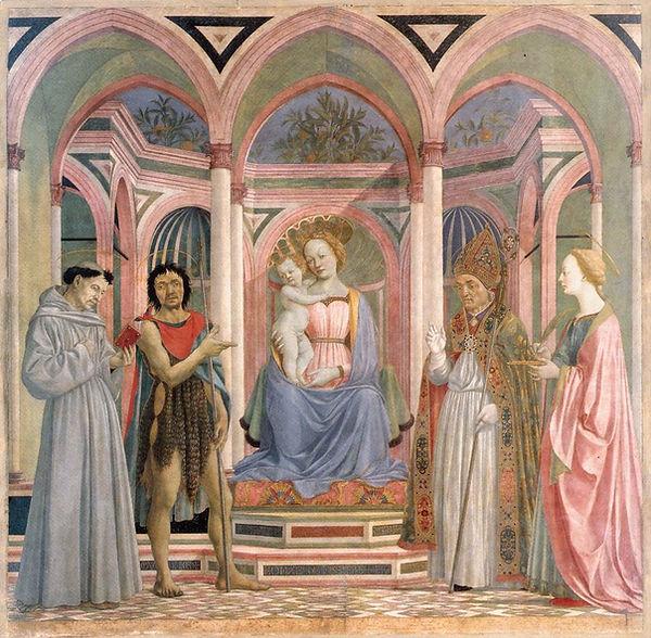 Veneziano -  The Madonna and Child with Saints (c. 1445).jpg