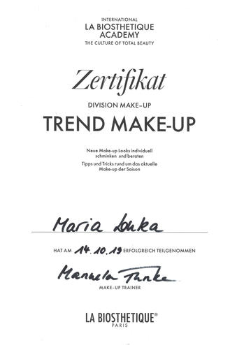 La Biosthetique Trend Make-Up