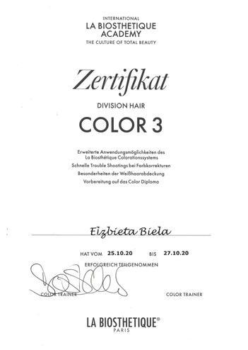 La Biosthetique Color 3