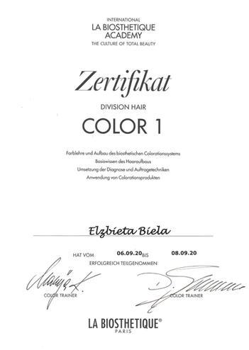 La Biosthetique Color 1