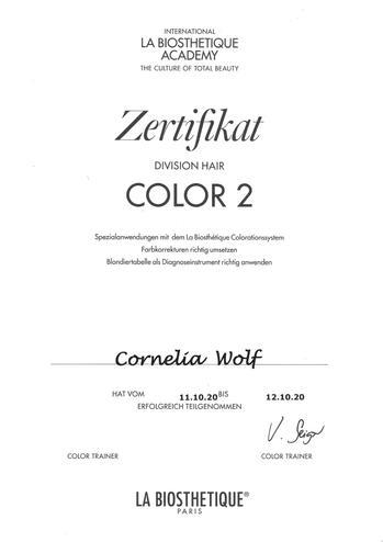 La Biosthetique Color 2