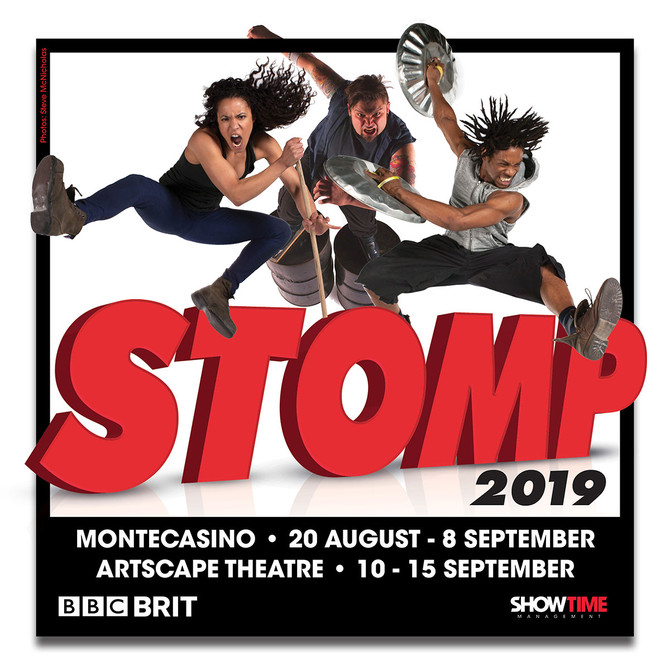 "INTERNATIONAL SMASH HIT ""STOMP"" TO BASH AND CRASH IN SA NEXT MONTH"
