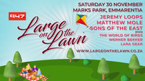 10 reasons why you don't want to miss out on Large On The Lawn with Jeremy Loops, Matthew Mole and m