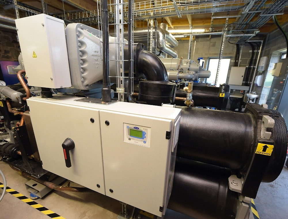 Example of the heat pump planned for use at Gloucestershire College