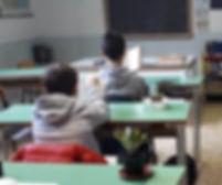 Momento di lettura personale in classe.j