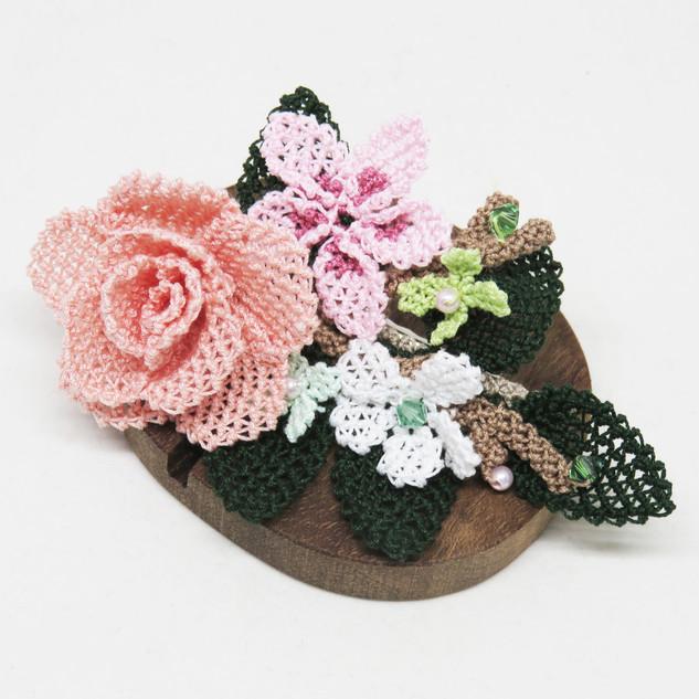 turkish_oya_lace_spring_peach_rose_hairpin_03.JP