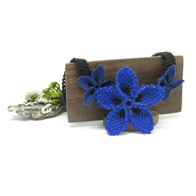 oya_lace_blue_navy_star_flower_necklace_
