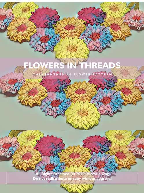 Intermediate/Advanced Pattern: Chrysanthemum