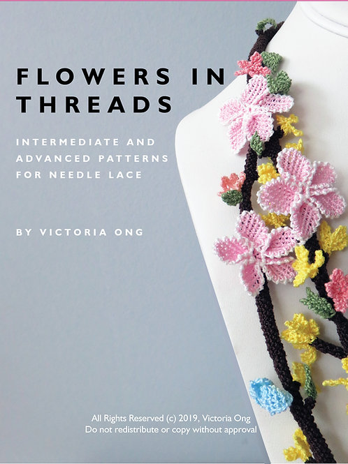Discounted Imperfect Copies : Intermediate and Advanced Patterns for Needle Lace