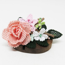 turkish_oya_lace_spring_peach_rose_hairpin_01.JP