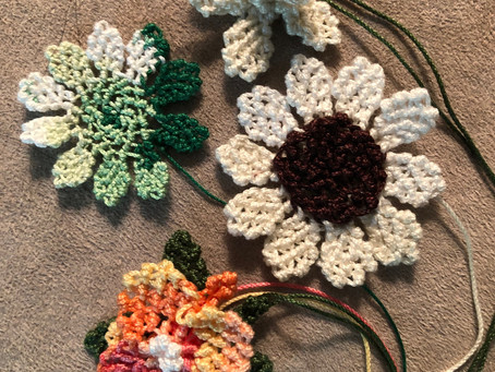What is Needle Lace Similar to in Needle Arts? Past Student Works