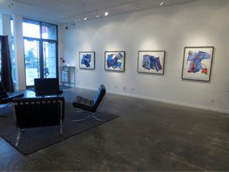 galerie michel guimont, yableaux Marie Cliche artiste peintre, art contemporain, art abstrait, peintre québécois, artiste gestuel,oeuvre sur papier,