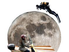 des nouvelles de la lune