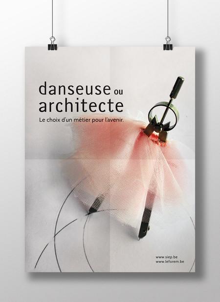 Danseuse ou Architecte