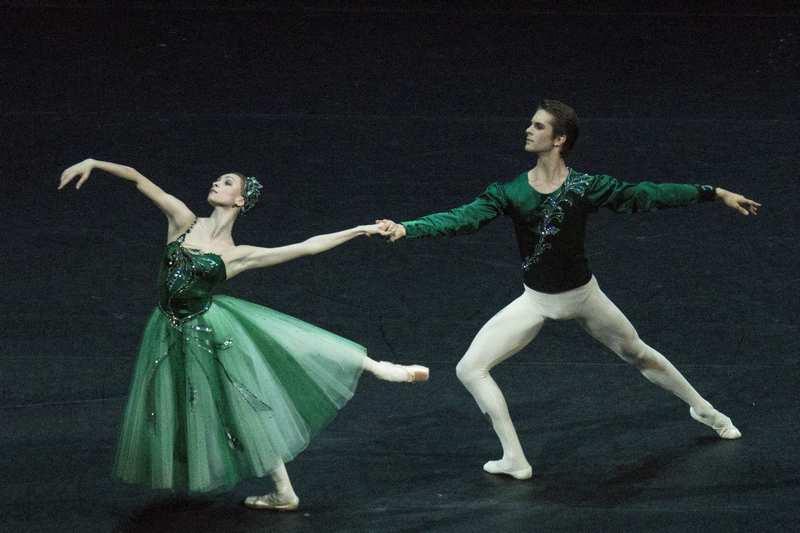Balanchine's Emeralds, w/ Karim Abdullin