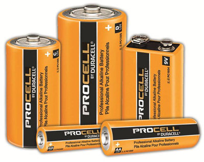 "BATERIA DURACELL PROCELL ""AA"" (24)"