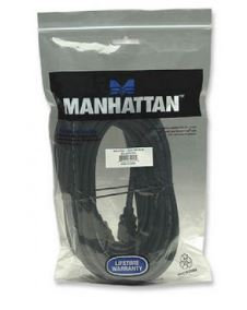 Cable HDMI MANHATTAN, 10 m, HDMI, HDMI, Macho/Macho, Negro