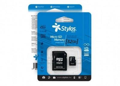 Memoria Micro SD Stylos 32 GB