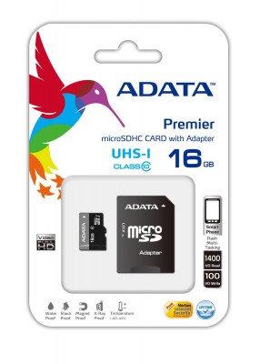 Memoria Micro SD ADATA Pemier Pro UHS-I U1, 16 GB