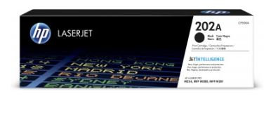 Tóner HP Num 202A, 1400 páginas, Negro (CF500A) Original