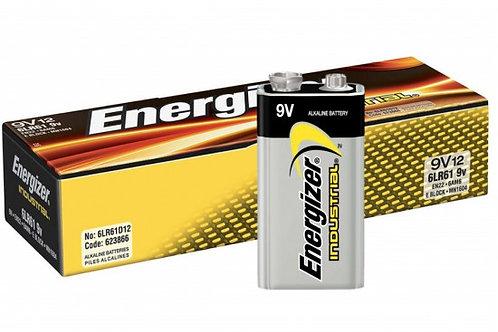 BATERIA 9V ENERGIZER INDUSTRIAL (12)