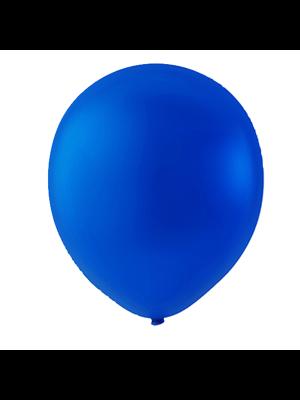 """Globo Látex Sólido Color Azul Royal 9"""" (50 piezas)"""