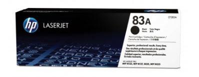 Tóner HP (CF283A) 83A, Original 1,500 páginas, Negro