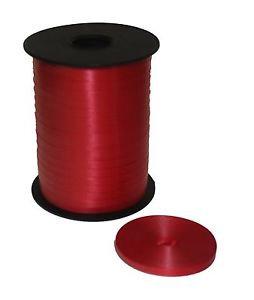 Listón Curling Liso 475m Sedacolor's Color Rojo