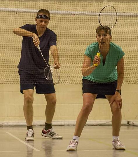 Andy Brown Tournament - 2015 - Carolyn and John