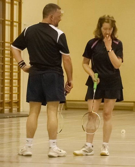 Andy Brown Tournament - 2015 - Liz and Mark - Runners up