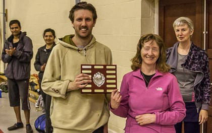 Andy Brown Tournament - 2016 - Winners - Liz and Tom