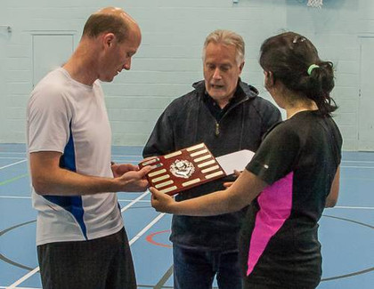 Andy Brown Tournament - 2017 - Winners Presentation