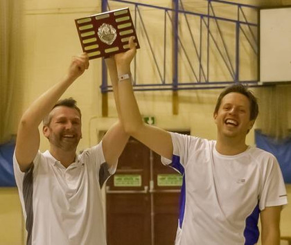 Andy Brown Tournament - 2015 - Gavin and Will - Winners