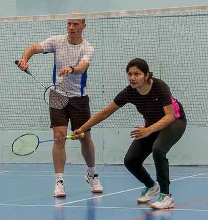 Andy Brown Tournament - 2017 - Winners - Jyoti and Greg