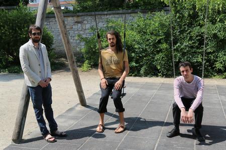 Downhill trio