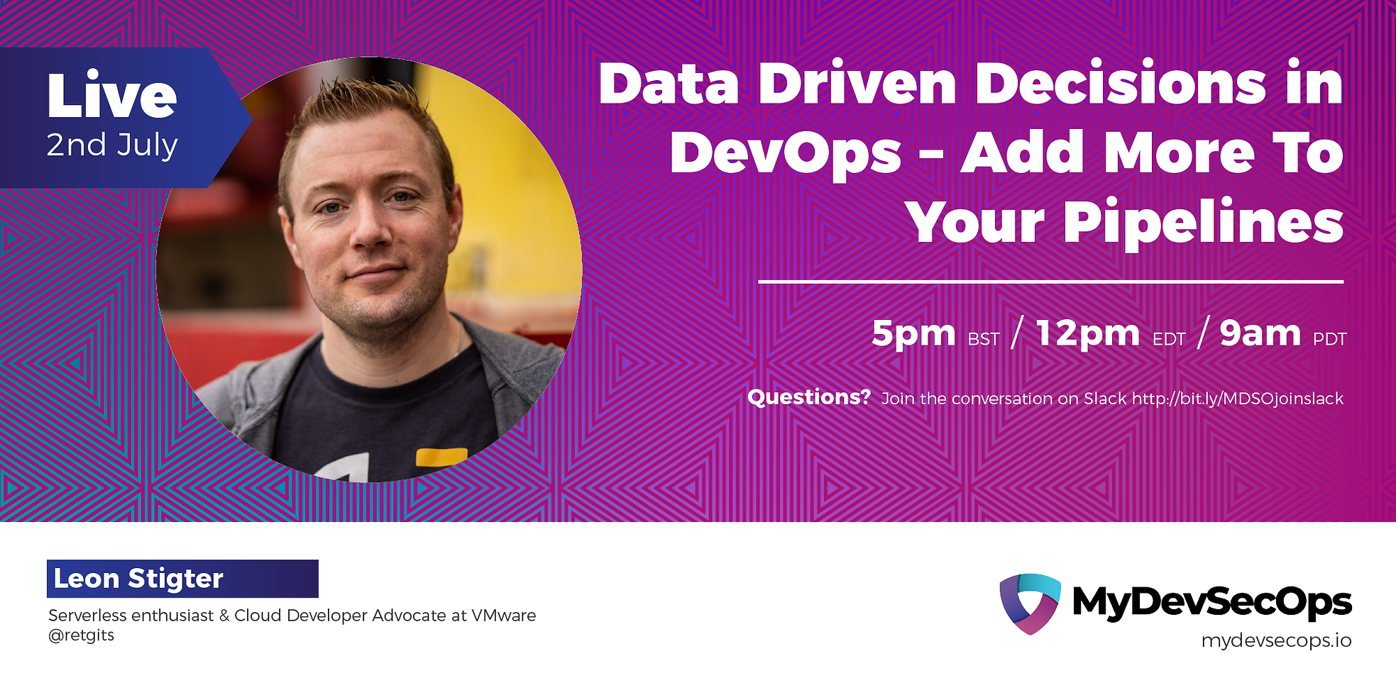 Data Driven Decisions in DevOps @ MyDevSecOps